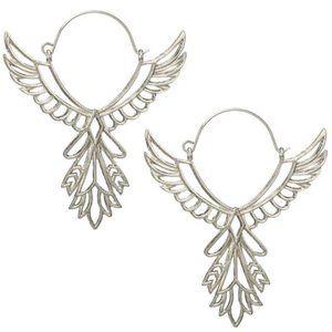 Free 🚗 ! Bird Thunderbird SILVER Earrings